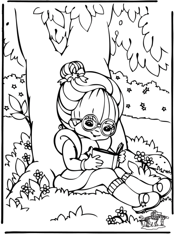kinderboekenfestival suriname 187 kleurplaat meisje