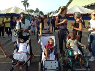 Kinderen van Huize Betheljada op bezoek bij KBF